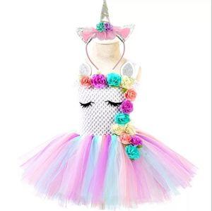 Other - 12 months unicorn tutu dress with headband